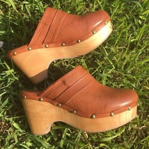 Aldo Frida Leather Clog